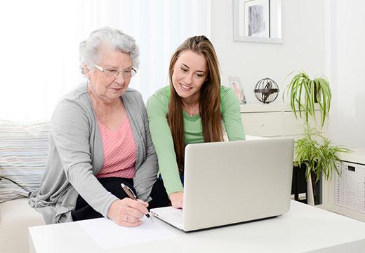 Clevere Unterstützung für Senioren – immer gut geholfen